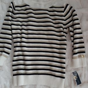 NWT Cotton Sweater with a touch of Glitz